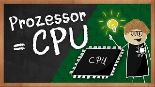 Wie funktioniert ein Prozessor (CPU)? Erklärvideo von BYTEthinks