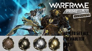 Warframe - How To Get All Unvaulted Prime Parts ! (Rhino And
