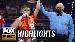 Omar Juarez outclasses Elias Araujo in dominant unanimous-decision win | HIGHLIGHTS | PBC ON FOX