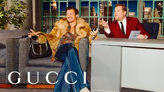 Harry Styles and James Corden on The Beloved Show