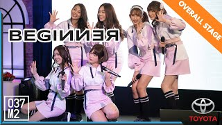 190608 BNK48 - Beginner @ Toyota Fun Space, Ubon Ratchathani [Overall Stage 4k60p]
