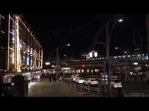 SONY RX100M2 Sample Video, Night of Ueno, Tokyo