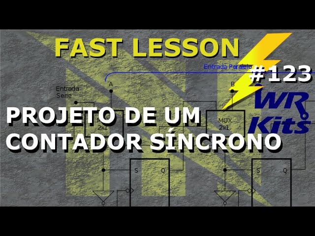 CONTADOR SÍNCRONO (PROJETO COMPLETO) | Fast Lesson #123
