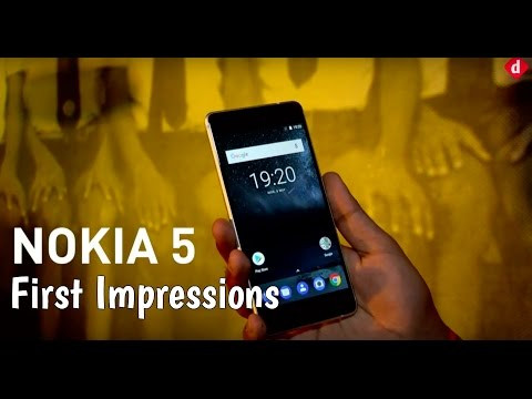 Nokia 5 First Impressions  Digitin