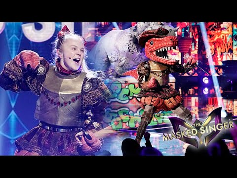 JOJO SIWA ON THE MASKED SINGER!!