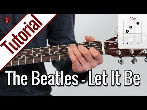 Baixar The Beatles - Let It Be | Gitarren Tutorial Deutsch
