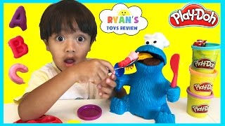 PLAY DOH COOKIE MONSTER LETTER LUNCH Cookie Monster