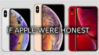 Introducing iPhone Xs, iPhone XR | Apple • PARODY