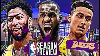 Los Angeles Lakers NBA Season Preview: LeBron James | Anthony Davis | Kyle Kuzma [2019-20]