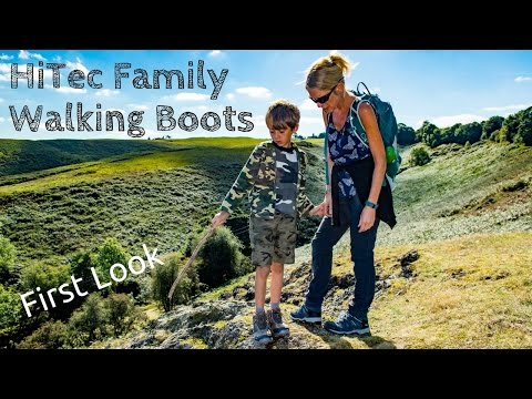 video HiTech Bandera and child's Flash Fast Hike Boots Review