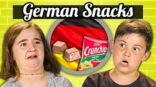 KIDS EAT GERMAN SNACKS | Kids Vs. Food