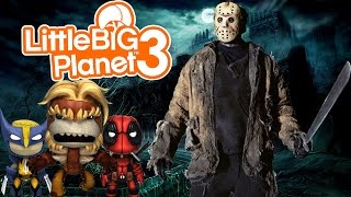 Little Big Planet 3: Jason, Keep Your Pimp Hand Strong!!! (Friday the 13th)