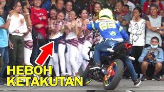 Wawan Tembong Full Terbaru - Endingnya Lucu!! Freestyle Motor Yamaha R6 dan MT25 (AMF Jogja)