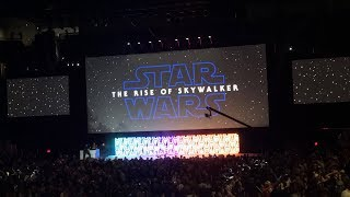 Star Wars: Episode IX - The Rise of Skywalker Trailer | Fan Reaction from Celebration 2019