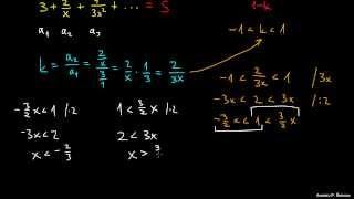 Za kateri x vrsta konvergira 2
