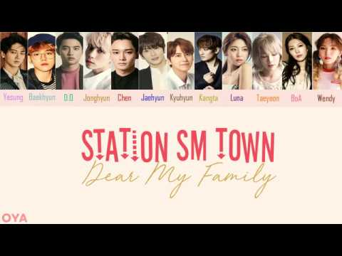 SM Station - Dear My Family [lyric Video] (Han/Rom) Color coded