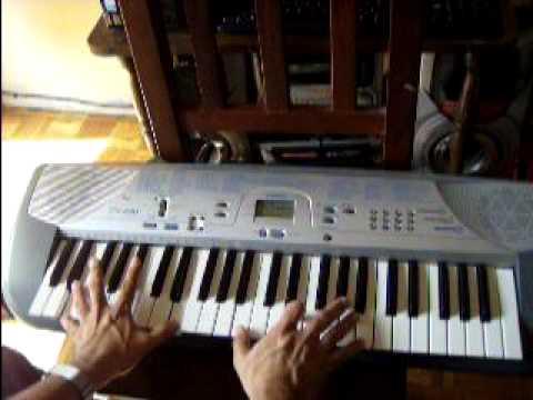Como tocar  november rain piano por jorge Sanabria /How to play november rain piano