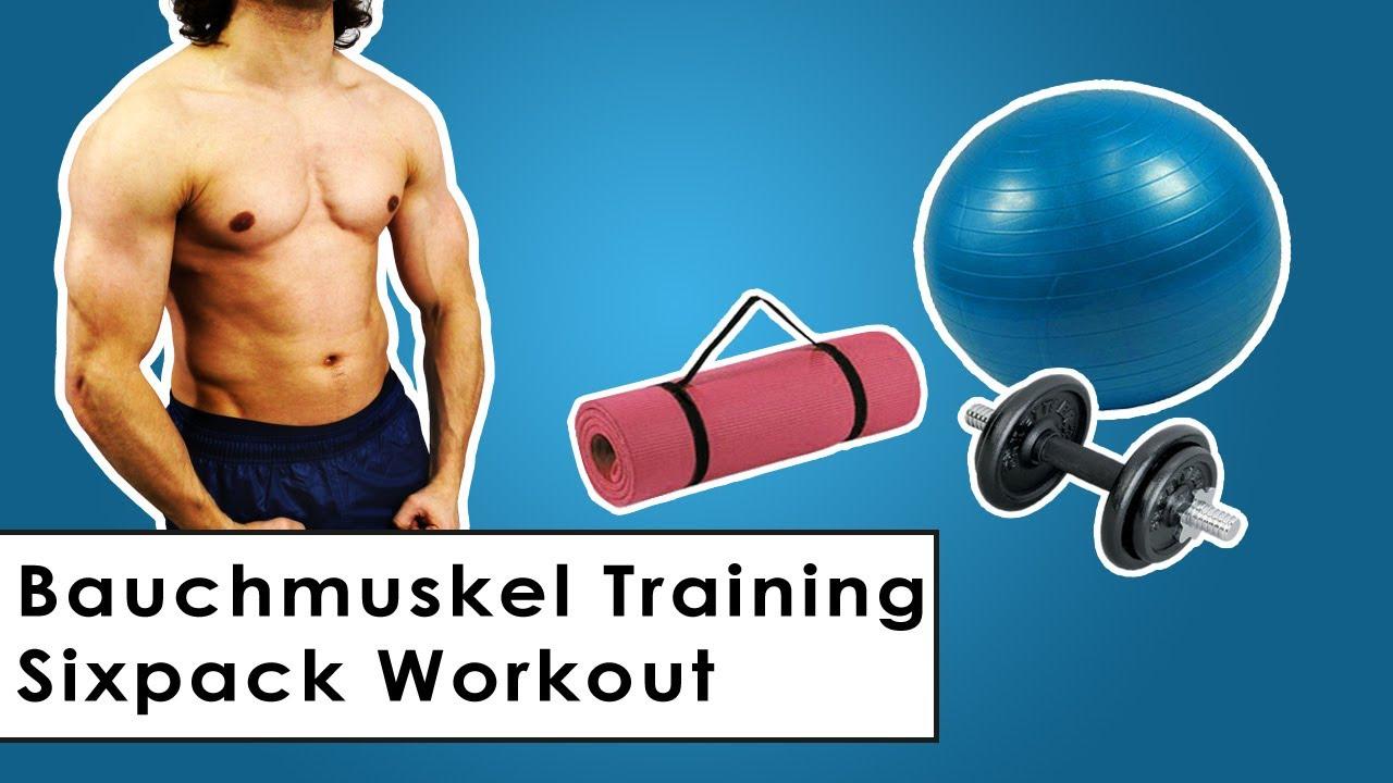 Effektives Bauchmuskeltraining Sixpack Training für zu