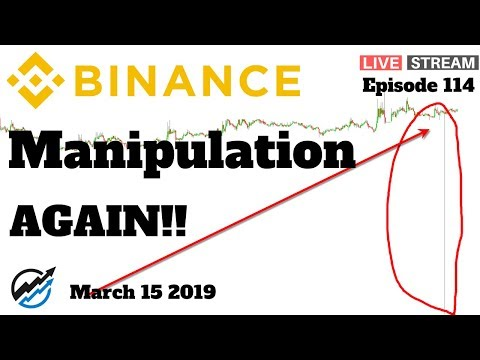Binance Price Manipulation AGAIN??! | Bull Market Watch | March 15 2019