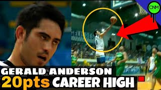 GERALD ANDERSON CAREER HIGH | FULL GAME HIGHLIGHTS