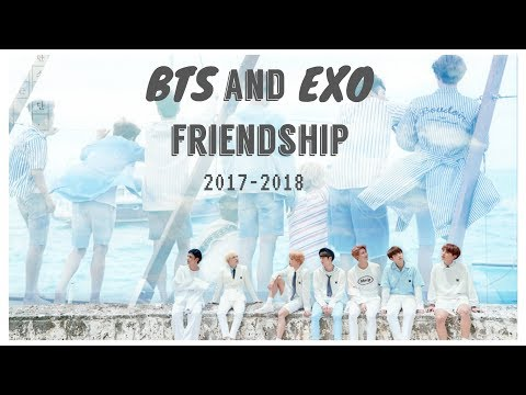 BTS and EXO Interactions 2017-18 ( UPDATED )