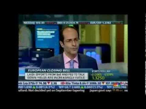 Ashraf Laidi on CNBC - August 15, 2013 Chart