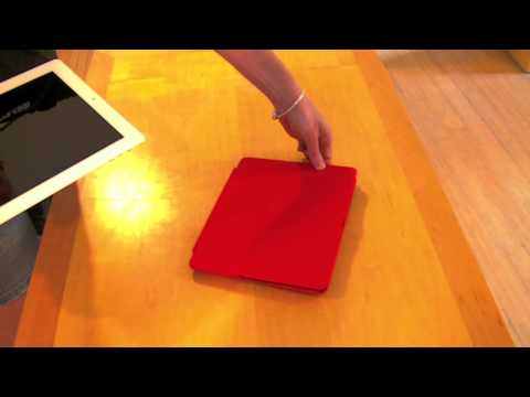 How to put on the Hammerhead Hard Shell Case for iPad 2