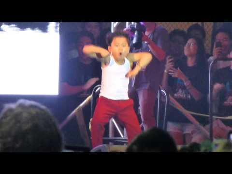 Little Psy - Gangnam Style at Los Angeles Korean Festival Foundation 10/5/12 황민우
