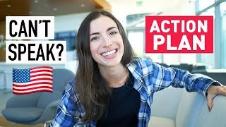 I UNDERSTAND ENGLISH, BUT I CAN'T SPEAK IT - action plan - YouTube