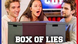 IS GIO EERLIJK BIJ BOX OF LIES? | Gio, Sophie, Jill, Kaj | Challenges Cup #41