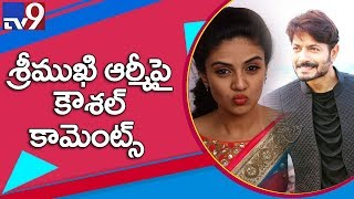 Kaushal Manda indirectly warns Sreemukhi against the promo..