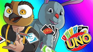 Uno Funny Moments - Team Games and AL DUSTY Wrecks Us!