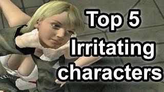 Top 5 - Irritating characters in gaming