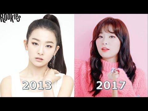Red Velvet 레드벨벳 Seulgi 슬기 Evolution (2013-2017)