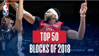 NBA's Top 50 Blocks of 2018