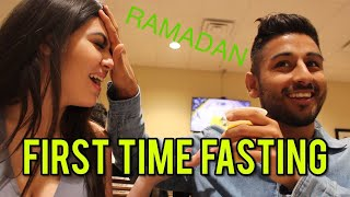 FASTING FOR THE FIRST TIME IN RAMADAN ft. MIKAELA PASCAL