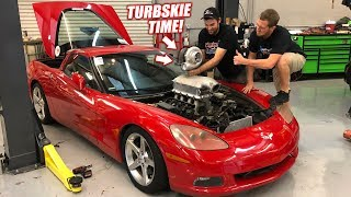 Screw It... We're Turbocharging the Auction Corvette THIS WEEK!