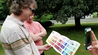 Colorblind Dad Tries EnChroma Glasses - They worked!