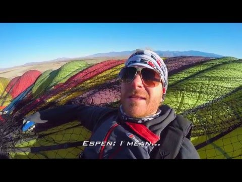Wingsuit Proximity Flying and BASE Jumping from Hot Air Balloon with JT Holmes | UAG