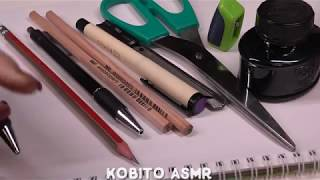 KOBITO ASMR ★ Best Pencil Sound for Relaxing, sleep, study  ★ No Talking