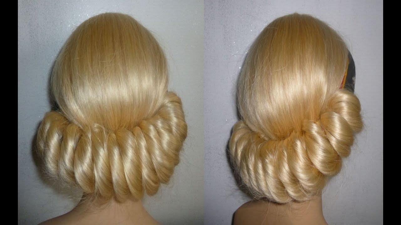 einfache frisuren mit haarband hochsteckfrisur ausgehfrisur hairband hairstyle peinados trenzas. Black Bedroom Furniture Sets. Home Design Ideas