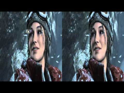 Rise of The Tomb Raider Oculus Rift VR : 1080p SBS TriDef 3D Zeiss Head Tracking pt 1