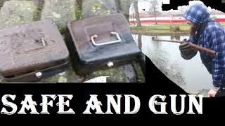 Safe's and Gun Found Magnet Fishing