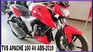 Apache RTR 1604v ABS 2019 launched Single channel ABS - rev