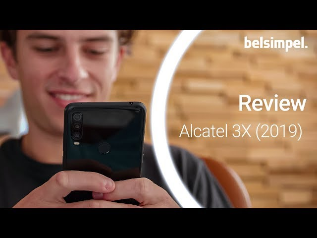Belsimpel-productvideo voor de Alcatel 3X (2019)