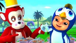 Bandar Mama Pahan Pajama   Nursery rhymes In Hindi   बंदर मामा   Hind Rhymes   Balgeet