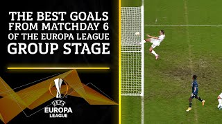 Top Goals from Matchday 6 of the Europa League   UCL on CBS Sports