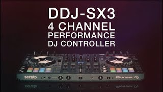 PIONEER DJ DDJ-SX3  Controller in action