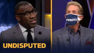 """UNDISPUTED   Skip MOCKED Shannon when Lakers loss to Nuggets 114-106 despite LeBron """"triple-double"""""""