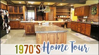 Our 1970s HOME TOUR!